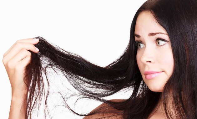 Suché a lámavé vlasy
